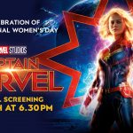 Join us at our International Women's Day Screening of Captain Marvel