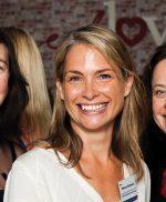 Previous Fellowship recipients Courtney Botfield, Rebecca Hammond and Sasha Close