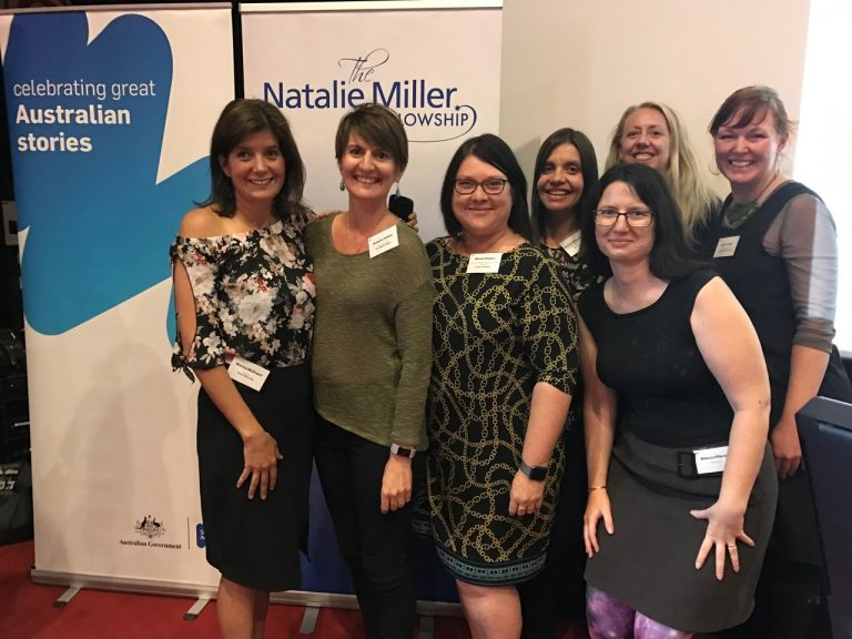 The Canberra contingent at NMF Brilliant Careers Leadership Conference 2017