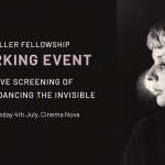Invitation to NMF Networking Event & Screening of Jill Bilcock: Dancing the Invisible