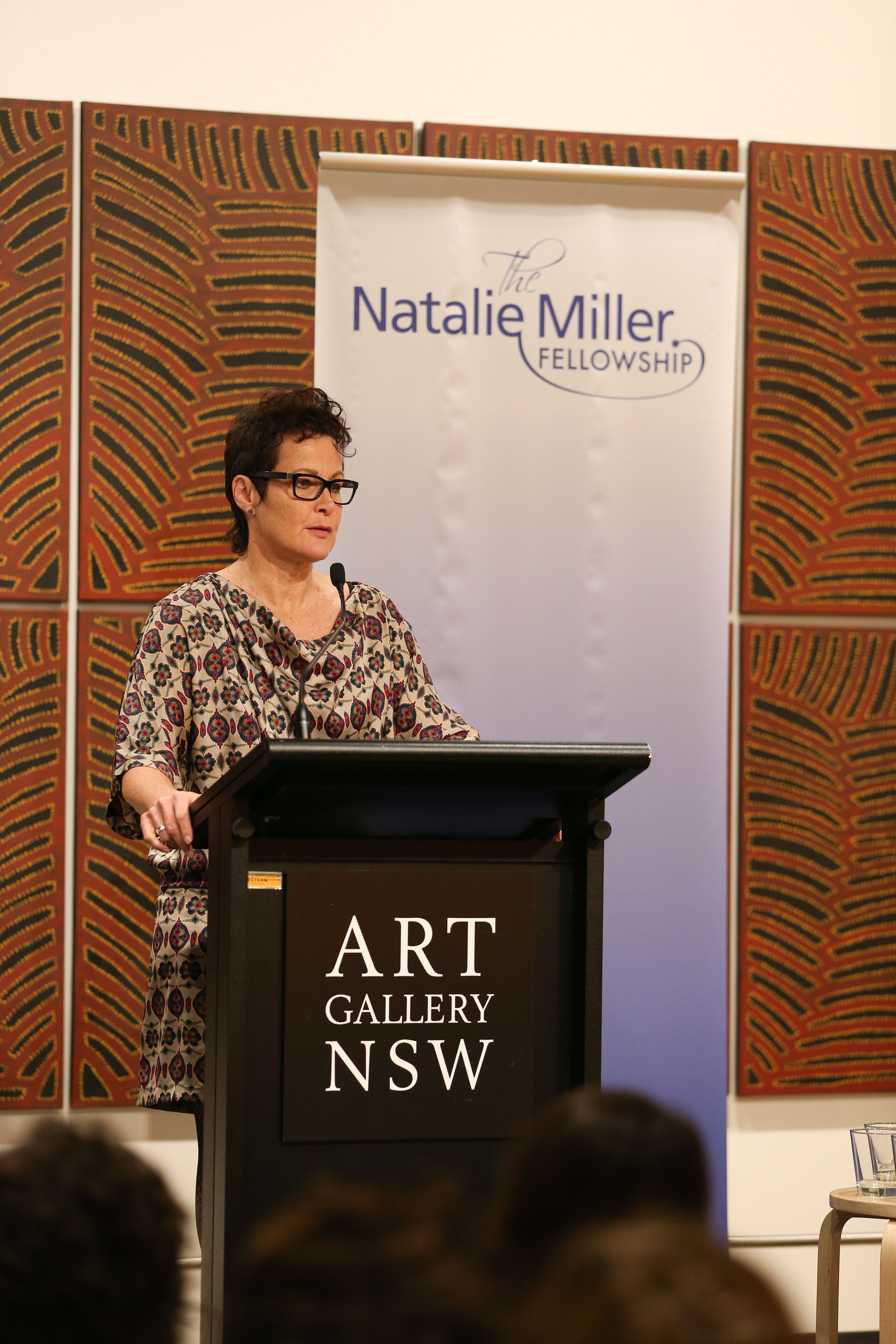 Sandy George moderates Women of Influence and Leadership, Natalie Miller Fellowship, Sydney, 2015