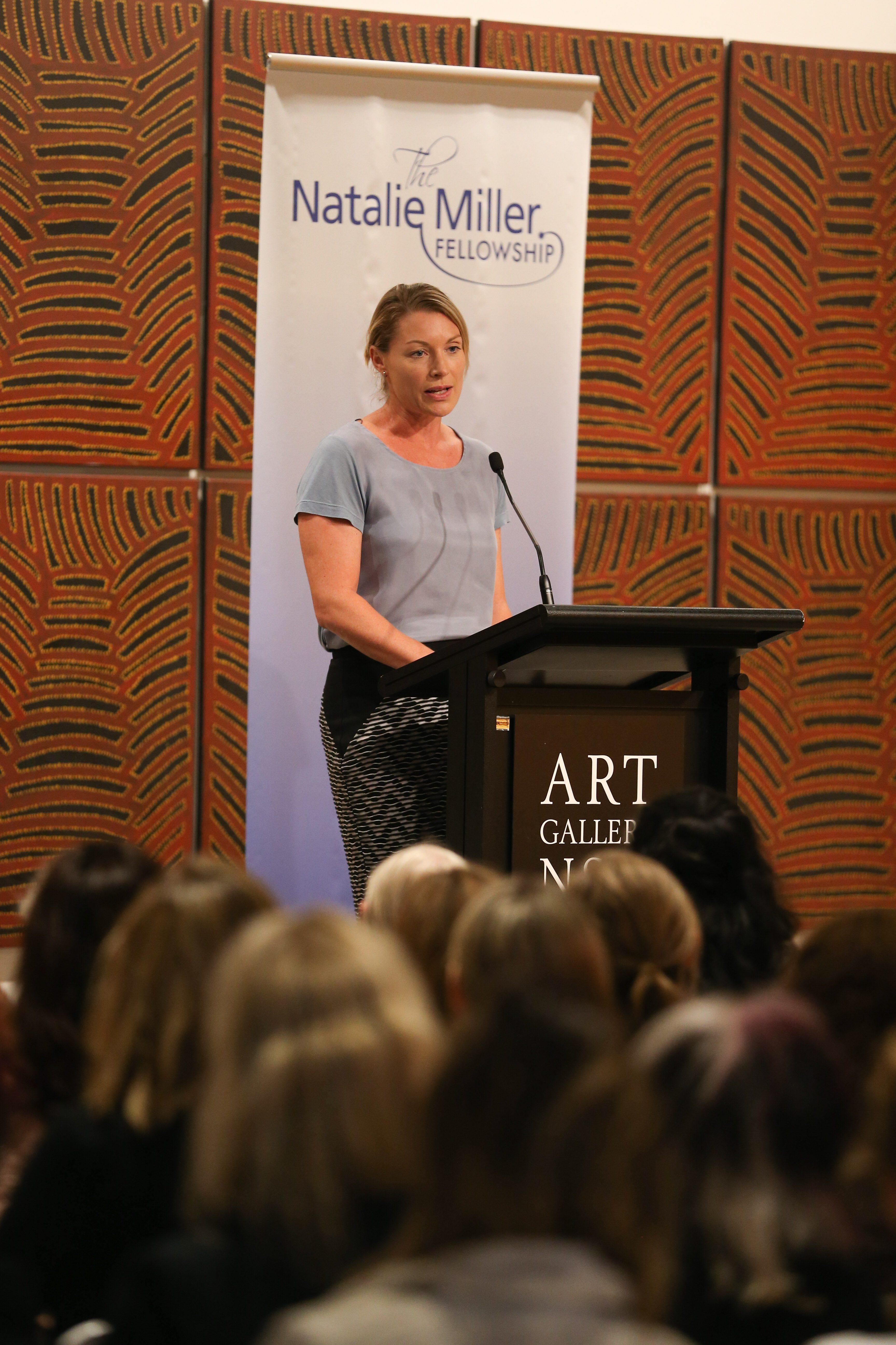 Rebekah Horne, Chief Digital Officer of Channel 10, speaks at Women of Influence and Leadership, Sydney, 2015