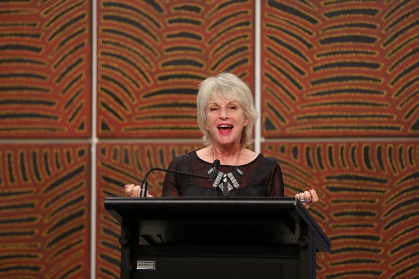Jill Bilcock speaks at Women of Influence and Leadership, Natalie Miller Fellowship, Sydney, 2015