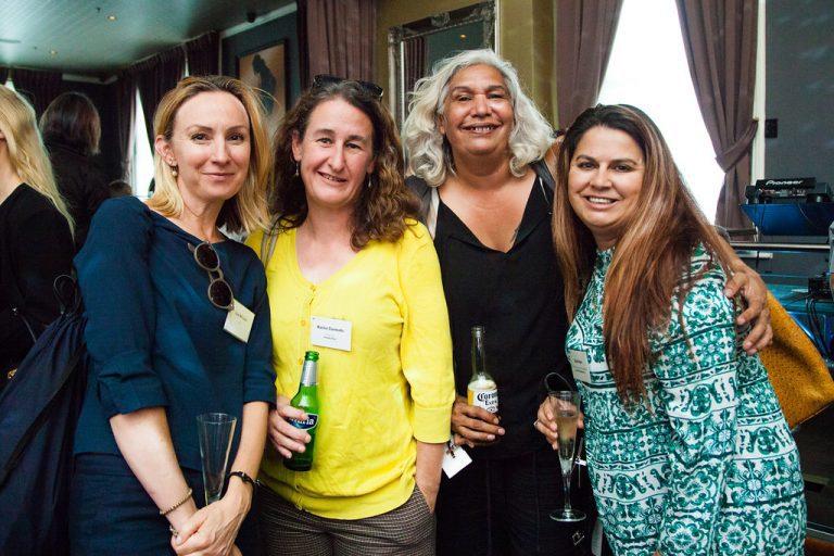Lisa McCune, Rachel Clements, Trisha Morton-Thomas, Karla Hart at NMF Brilliant Careers Leadership Conference 2017