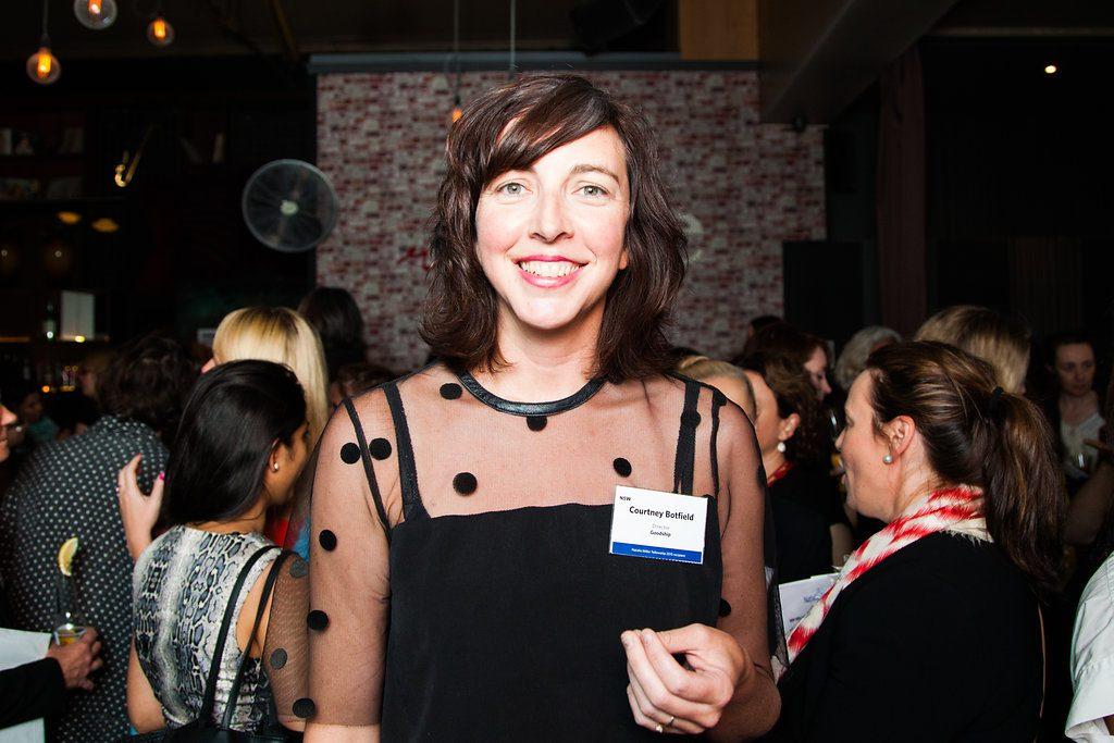 Courtney Botfield - previous Natalie Miller Fellowship recipient.