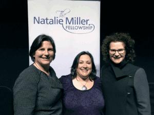 L-R: NMF President Sue Maslin, Melissa Silverstein, NMF Patron Carol Schwartz AM