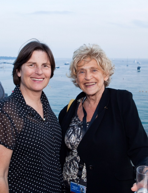 NMF President Sue Maslin and Natalie Miller